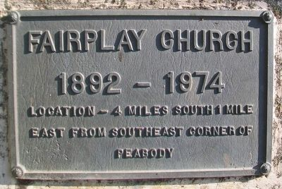 Fairplay Church [Bell] Marker image. Click for full size.