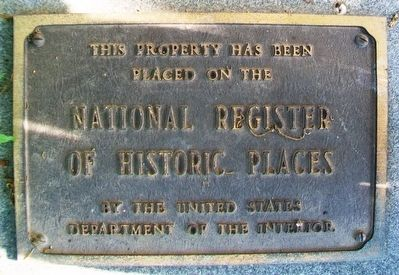Old Peabody Library NRHP Marker image. Click for full size.