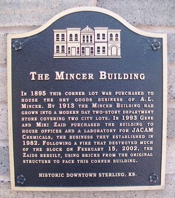 The Mincer Building Marker image. Click for full size.