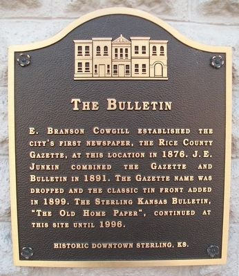 The Bulletin Marker image. Click for full size.