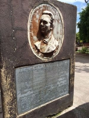 Nearby relief of Miguel Garcia Granados image. Click for full size.