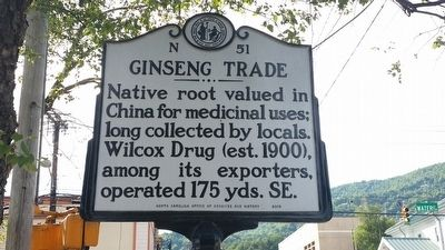 Ginseng Trade Marker image. Click for full size.