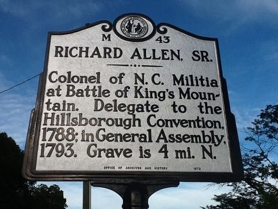 Richard Allen, Sr. Marker image. Click for full size.