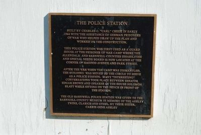 The Police Station Marker image. Click for full size.