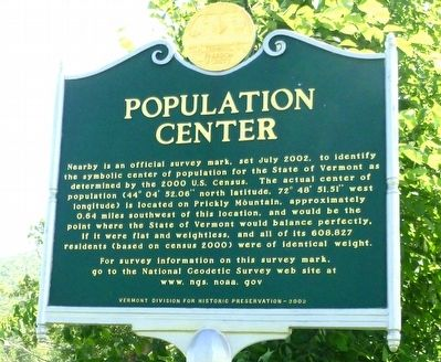 Population Center Marker image. Click for full size.
