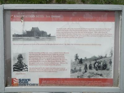 Excavation Site: Ice House Marker image. Click for full size.