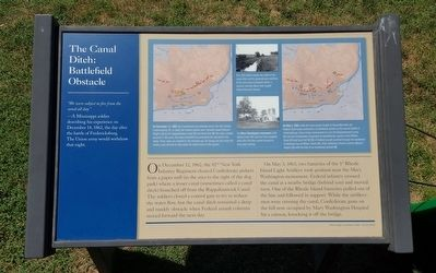 The Canal Ditch: Battlefield Obstacle Marker image. Click for full size.