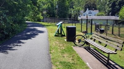 Dog Park along the Rappahannock Canal Path. image. Click for full size.
