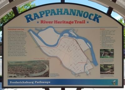 Rappahannock River Heritage Trail Marker (side 1) image. Click for full size.