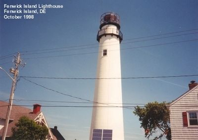 Fenwick Island Lighthouse image. Click for full size.