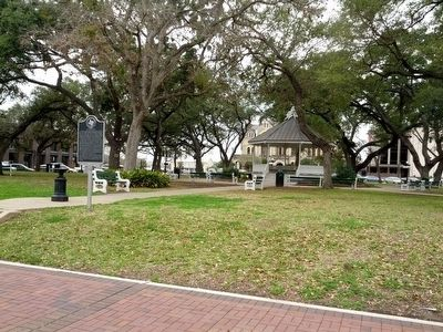 Location of De Leon Plaza Marker image. Click for full size.