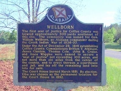 Wellborn Marker image. Click for full size.