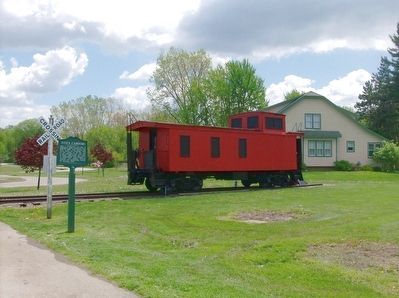 Fitz's Caboose and Marker image. Click for full size.