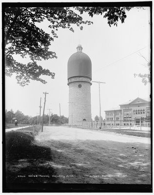 Ypsilanti Water Tower image. Click for full size.