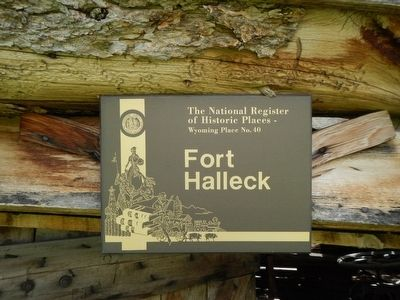 Fort Halleck image. Click for full size.