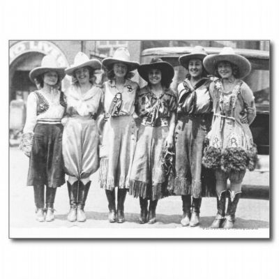 Wyoming Cowgirls image. Click for full size.