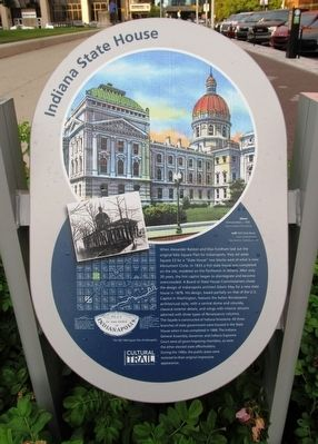 Indiana State House Marker image. Click for full size.