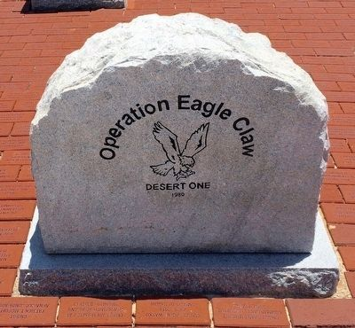 Operation Eagle Claw Memorial (Front) image. Click for full size.