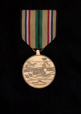 Southwest Asia Service Medal image. Click for full size.