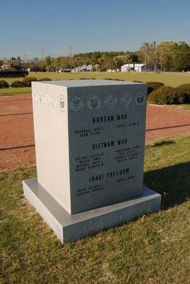 Barnwell School District #45 KIA Monument Marker image. Click for full size.