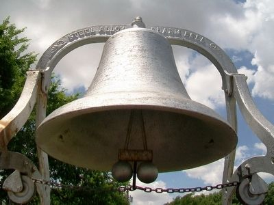 Geneseo Fire Bell image. Click for full size.