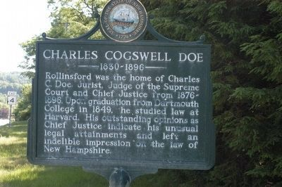 Charles Cogswell Doe Marker image. Click for full size.