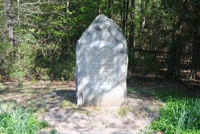 Birthplace of Andrew Jackson Monument image. Click for full size.