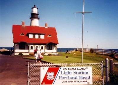 U.S. Coast Guard Light Station Portland Head, Cape Elizabeth, Maine image. Click for full size.