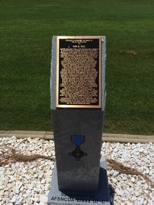 Award of Air Force Cross to Ivan M. Ruiz Marker image. Click for full size.