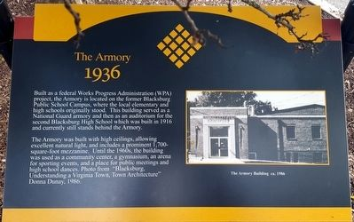 The Armory Marker image. Click for full size.