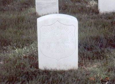 Alfred B. Hilton Grave Marker image. Click for full size.