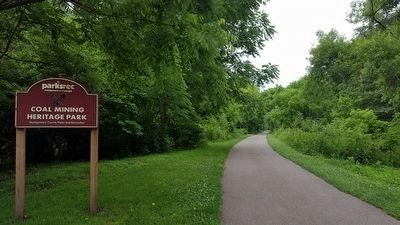 Huckleberry Trail thru Coal Mining Heritage Park image. Click for full size.