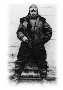 "Air mail pilot William ""Wild Bill"" Hopson image. Click for full size."