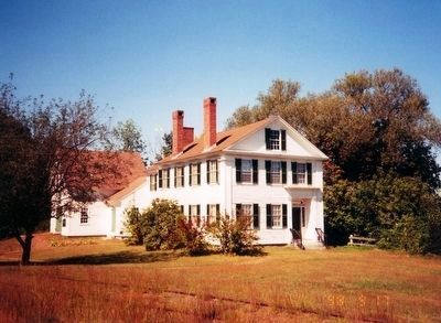 The Pierce Manse-side view image. Click for full size.