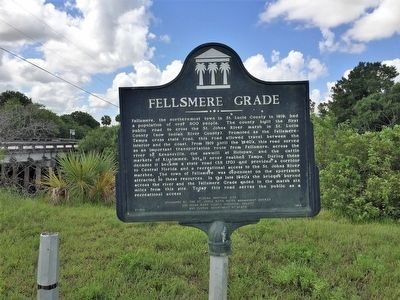 Fellsmere Grade Marker image. Click for full size.
