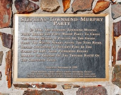 Stephens-Townsend-Murphy Party Marker image. Click for full size.