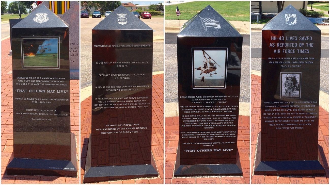 """That Others May Live"" Marker (All sides) image. Click for full size."