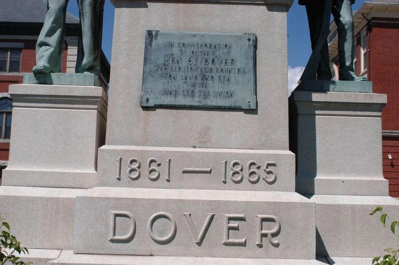 Dover NH Civil War Memorial image. Click for full size.