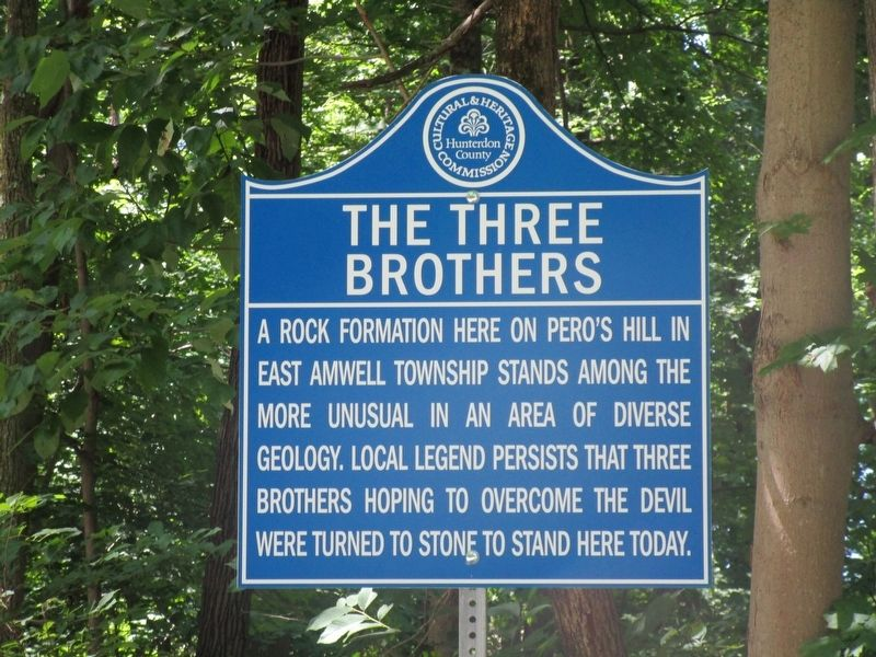 The Three Brothers Marker image. Click for full size.