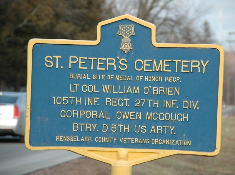 St. Peters Cemetery Marker image. Click for full size.