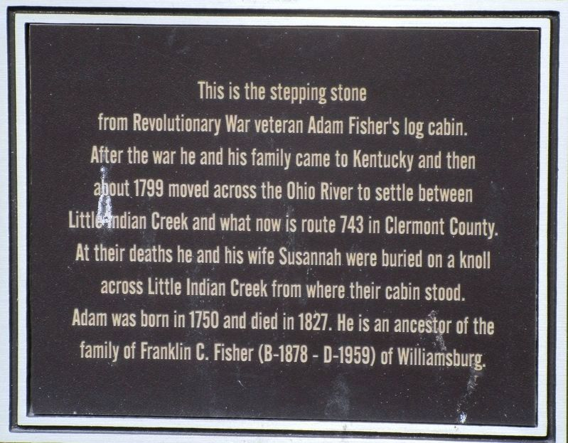 Stepping Stone Marker image. Click for full size.