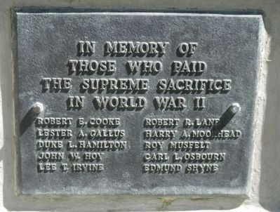 Midwest Veterans Memorial Marker image. Click for full size.