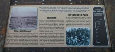 Salt Creek Oil Field Marker, bottom panel image. Click for full size.