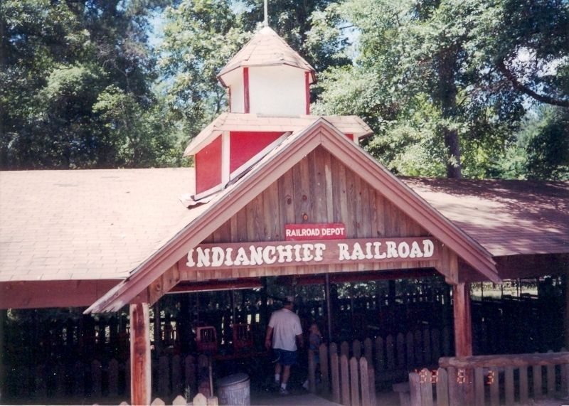 Indian Chief Railroad Depot image. Click for full size.
