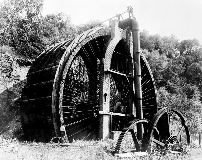 The Burden Water Wheel image. Click for full size.