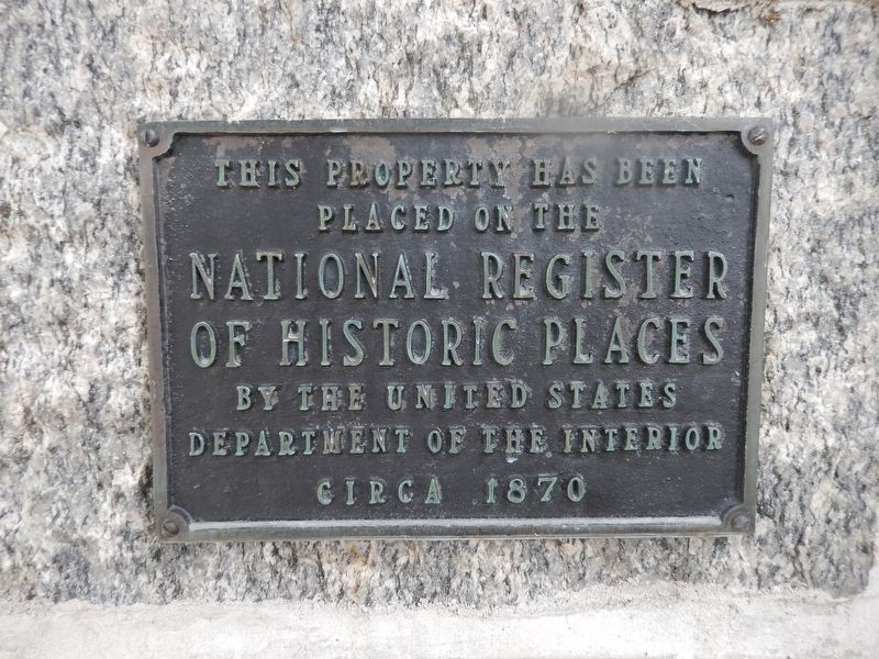 Deer Creek Harmony Presbyterian Church Marker image. Click for full size.