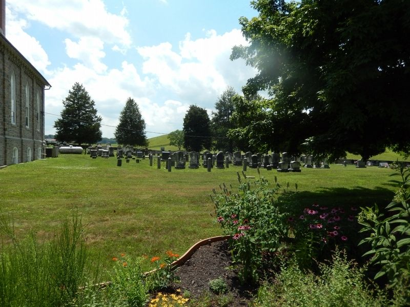 Deer Creek Harmony Presbyterian Cemetery image. Click for full size.