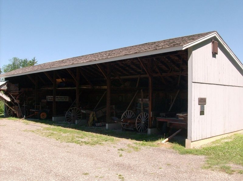 Trinity Horse Shed Reconstruction image. Click for full size.