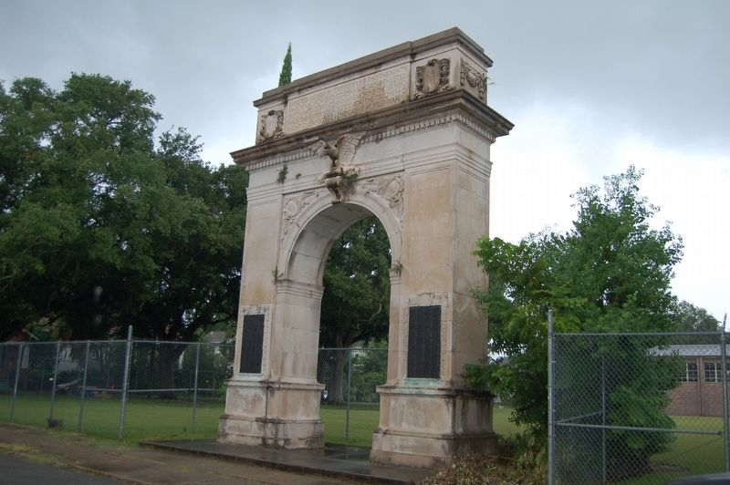 Ninth Ward WWI Memorial Marker image. Click for full size.