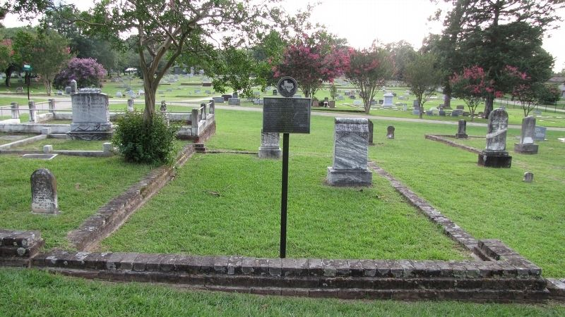 John M. Vines Marker and Grave image. Click for full size.